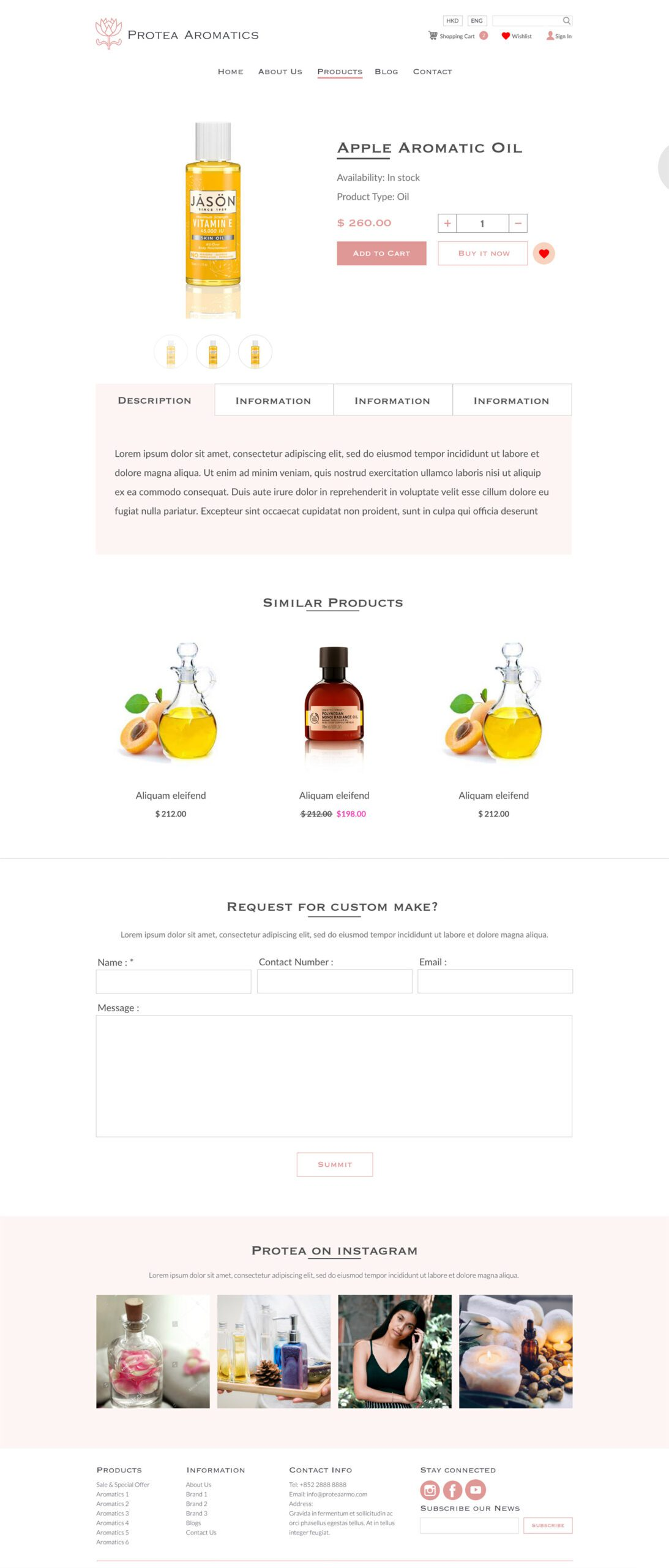 protea aromatics shopify Miracle Digital Ecommerce solution Hong Kong 02 scaled